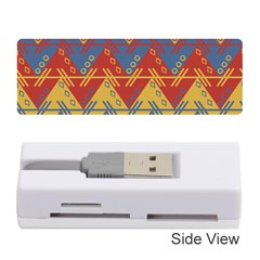 Aztec Traditional Ethnic Pattern Memory Card Reader (stick)
