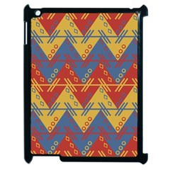 Aztec traditional ethnic pattern Apple iPad 2 Case (Black)