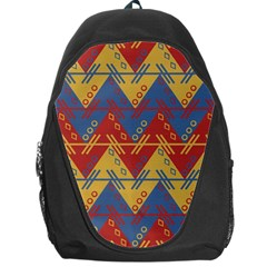 Aztec Traditional Ethnic Pattern Backpack Bag