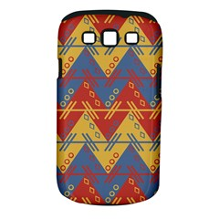 Aztec Traditional Ethnic Pattern Samsung Galaxy S Iii Classic Hardshell Case (pc+silicone)