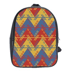 Aztec Traditional Ethnic Pattern School Bags (xl)