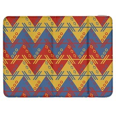 Aztec Traditional Ethnic Pattern Samsung Galaxy Tab 7  P1000 Flip Case