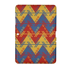 Aztec Traditional Ethnic Pattern Samsung Galaxy Tab 2 (10 1 ) P5100 Hardshell Case