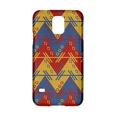 Aztec Traditional Ethnic Pattern Samsung Galaxy S5 Hardshell Case