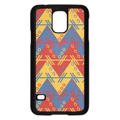 Aztec Traditional Ethnic Pattern Samsung Galaxy S5 Case (black)