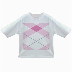 Tablecloth Stripes Diamonds Pink Infant/Toddler T-Shirts