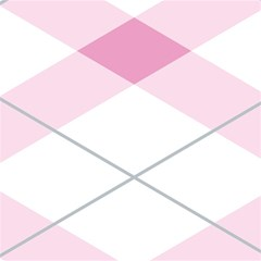 Tablecloth Stripes Diamonds Pink Magic Photo Cubes