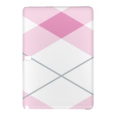 Tablecloth Stripes Diamonds Pink Samsung Galaxy Tab Pro 12 2 Hardshell Case