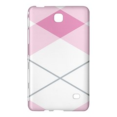 Tablecloth Stripes Diamonds Pink Samsung Galaxy Tab 4 (7 ) Hardshell Case