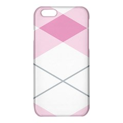Tablecloth Stripes Diamonds Pink iPhone 6/6S TPU Case