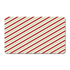 Stripes Striped Design Pattern Magnet (Rectangular)