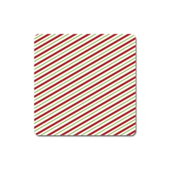 Stripes Striped Design Pattern Square Magnet