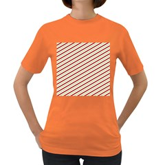 Stripes Striped Design Pattern Women s Dark T-Shirt