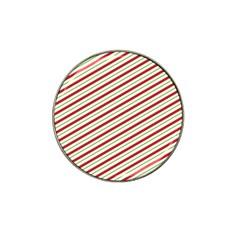 Stripes Striped Design Pattern Hat Clip Ball Marker (10 Pack)