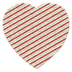 Stripes Striped Design Pattern Jigsaw Puzzle (heart)