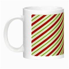 Stripes Striped Design Pattern Night Luminous Mugs