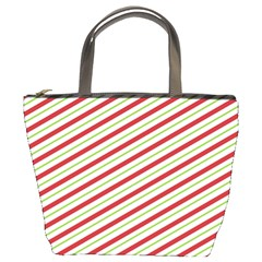 Stripes Striped Design Pattern Bucket Bags