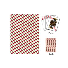 Stripes Striped Design Pattern Playing Cards (Mini)