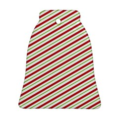 Stripes Striped Design Pattern Bell Ornament (two Sides)