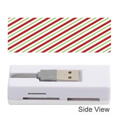 Stripes Striped Design Pattern Memory Card Reader (Stick)