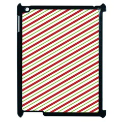 Stripes Striped Design Pattern Apple iPad 2 Case (Black)