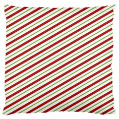 Stripes Striped Design Pattern Large Cushion Case (Two Sides)