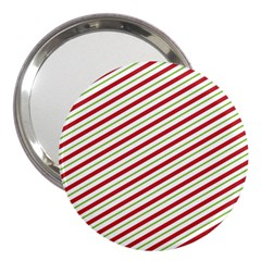 Stripes Striped Design Pattern 3  Handbag Mirrors