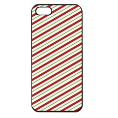 Stripes Striped Design Pattern Apple Iphone 5 Seamless Case (black)