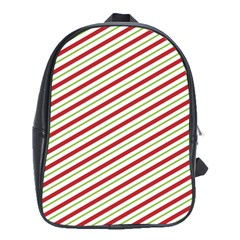 Stripes Striped Design Pattern School Bags (xl)