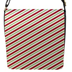 Stripes Striped Design Pattern Flap Messenger Bag (S)