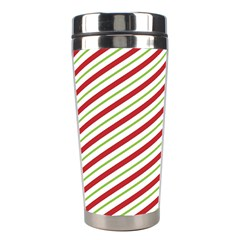 Stripes Striped Design Pattern Stainless Steel Travel Tumblers