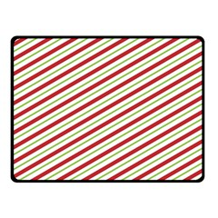 Stripes Striped Design Pattern Double Sided Fleece Blanket (small)