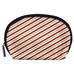Stripes Striped Design Pattern Accessory Pouches (large)