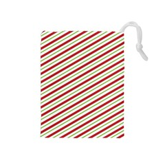Stripes Striped Design Pattern Drawstring Pouches (Medium)