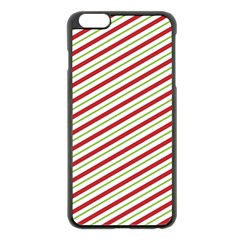 Stripes Striped Design Pattern Apple iPhone 6 Plus/6S Plus Black Enamel Case