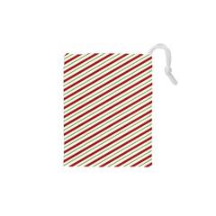 Stripes Striped Design Pattern Drawstring Pouches (XS)