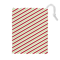 Stripes Striped Design Pattern Drawstring Pouches (extra Large)