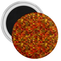 Gold Mosaic Background Pattern 3  Magnets