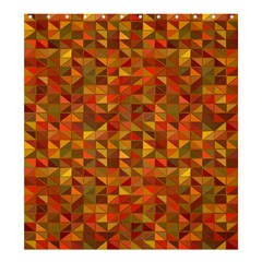 Gold Mosaic Background Pattern Shower Curtain 66  X 72  (large)