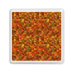 Gold Mosaic Background Pattern Memory Card Reader (Square)