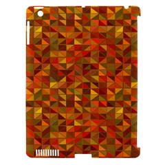 Gold Mosaic Background Pattern Apple Ipad 3/4 Hardshell Case (compatible With Smart Cover)
