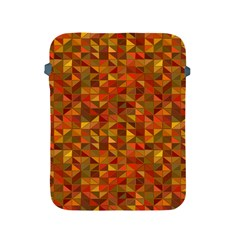 Gold Mosaic Background Pattern Apple iPad 2/3/4 Protective Soft Cases
