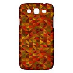 Gold Mosaic Background Pattern Samsung Galaxy Mega 5 8 I9152 Hardshell Case