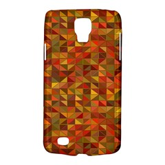 Gold Mosaic Background Pattern Galaxy S4 Active