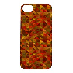 Gold Mosaic Background Pattern Apple Iphone 5s/ Se Hardshell Case