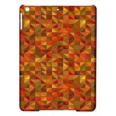 Gold Mosaic Background Pattern iPad Air Hardshell Cases