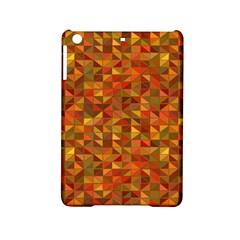Gold Mosaic Background Pattern iPad Mini 2 Hardshell Cases