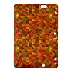 Gold Mosaic Background Pattern Kindle Fire Hdx 8 9  Hardshell Case