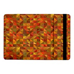 Gold Mosaic Background Pattern Samsung Galaxy Tab Pro 10 1  Flip Case