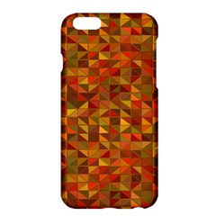 Gold Mosaic Background Pattern Apple Iphone 6 Plus/6s Plus Hardshell Case